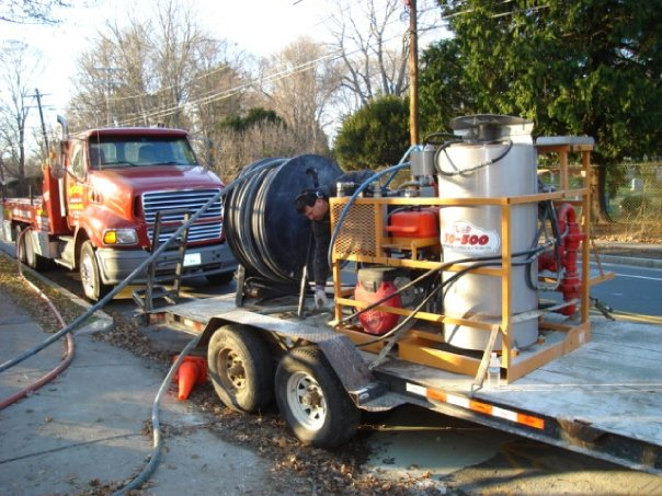 Geothermal Well Drilling Trailer