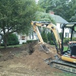 Northeast Water Wells Inc excavator