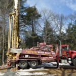 Well Drilling with Truck
