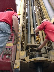 Northeast Water Wells Inc well drilling trucks