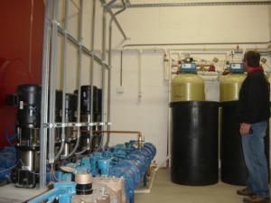 Water Holding Tank Installation in Massachusetts